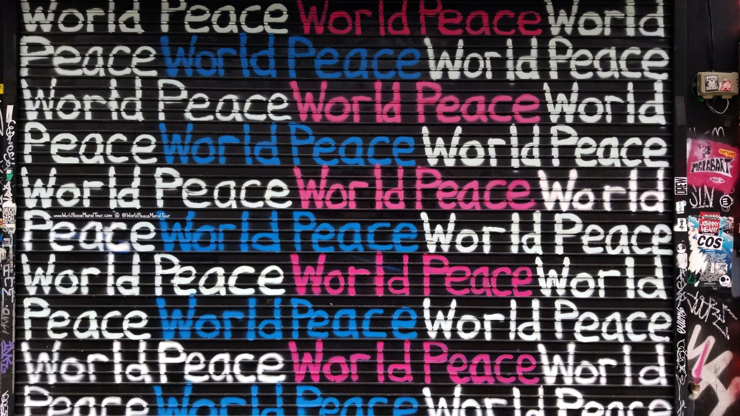 Ist der Weltfrieden denn eigentlich möglich?